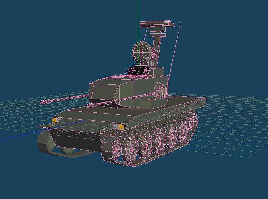 87式高射砲のMQO画像