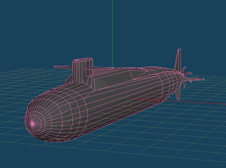 潜水艦やまとのMQO画像